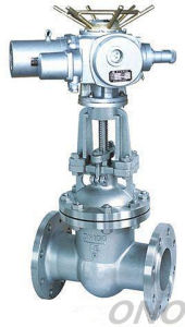 Electric Cast Steel Flange Gate Valve pictures & photos