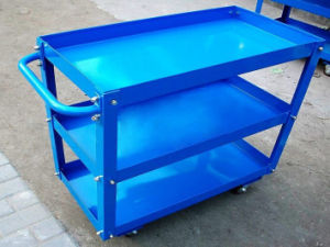 Heavy Duty Steel Platform Trolley pictures & photos