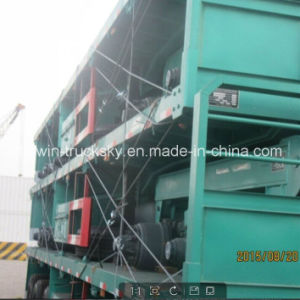 FOB 12031 Dollar Skeleton Low Bed Semi Trailer pictures & photos