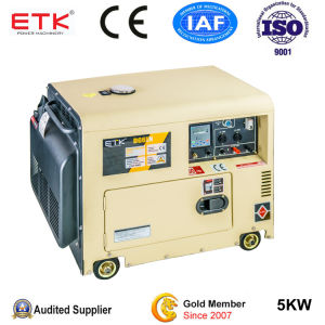 Oridinary Using 5kw Silent Diesel Generator pictures & photos