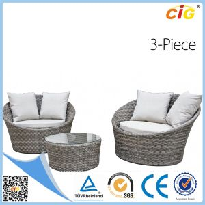 3PCS Popular Competitive Stacking Rattan Garden Vase Set pictures & photos