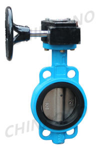 pneumatic Stainless Steel Butterfly Valve pictures & photos