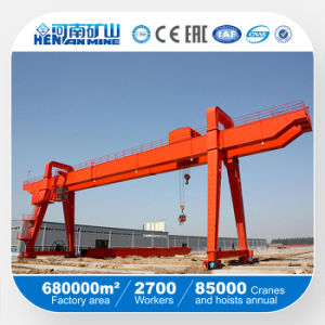Heavy Weight Shipbuilding or Container Loading Gantry Crane pictures & photos