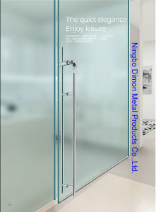 Dimon H Type Stainless Steel Glass Door Handle with Lock Dm-DHL 020 pictures & photos