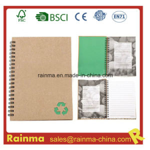 Spiral Notebook with Stone Waterproof Paper pictures & photos