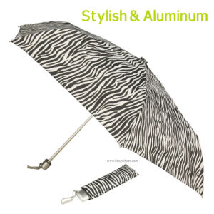 Light Stylish Umbrella with Zebra Design pictures & photos