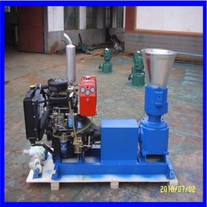 Semi-Automatic Diesel Wood Pellet Mill pictures & photos