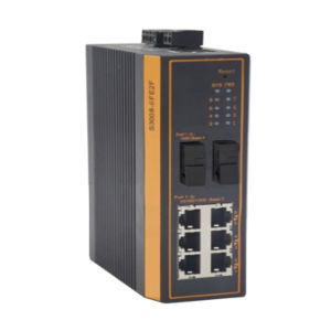 1*Giga SFP +2*Ge RJ45 Ports Industrial Switch pictures & photos