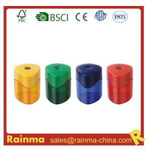 Plastic Safety Single Hole Pencil Sharpener pictures & photos
