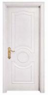 White Simple Design Solid Wooden Door pictures & photos