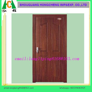 Moulded MDF Door Skin Plain Painted Door Skin pictures & photos