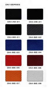 Polyester Double Layer Mesh Fabric for Office Chair Use