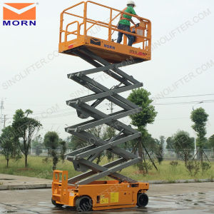 2015 Hot Sale! Electric Lift Table for Aerial Work pictures & photos