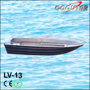 Aluminium Boat with Bow Fence (LV13) pictures & photos