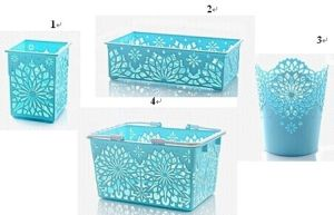 Plastic Tableware Collection Basket pictures & photos