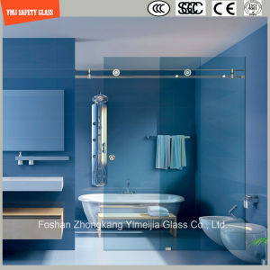 Adjustable 6-12 Tempered Glass Stainless Steel Frame Sliding Simple Shower Room, Shower Enclosure, Shower Cabin, Bathroom pictures & photos