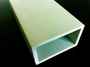 UV Protection High Strength Fiber Glass Rectangular Tube pictures & photos
