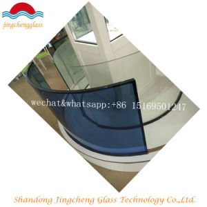 Hot Color Curved Insualted Glass/Construction Glass/Window Glass pictures & photos