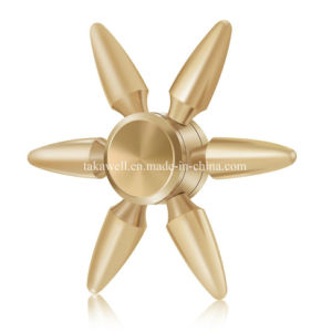 2017 Factory Wholesale Metal Bullet Shape Fidget Hand Spinner pictures & photos