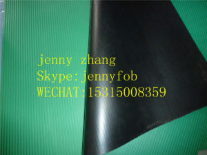 Cheap Anti-Static Cloth Insertion Construction Industrial Rubber Sheet Rolls pictures & photos