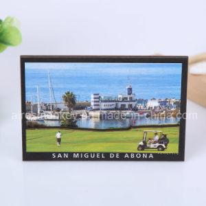 Souvenir 3D MDF Wooden Fridge Magnet for Different Countries pictures & photos