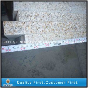 Natural Polished G682 Rusty Yellow Granite Stone Steps/ Stairs pictures & photos