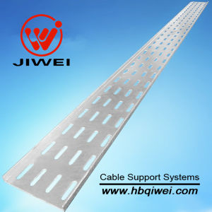 Perforated Aluminum Alloy Cable Tray for Construction (CE / SGS / ISO Certificates)