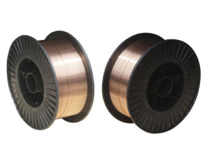 Copper Coated CO2 Gas Shielded MIG Welding Wire (AWS ER70S-6)