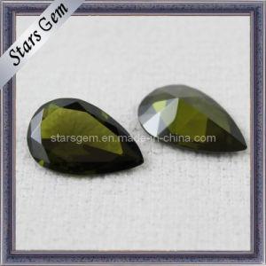 Peridot Gemstone Stone Cubic Zirconia Jewelry pictures & photos