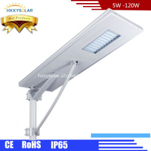 Integrated All in One LED Solar Street Light 5watts-120watts pictures & photos