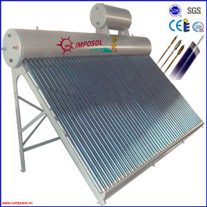 Pressurized Copper Coil Solar Energy Water Heater pictures & photos