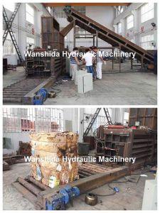 100ton Waste Paper Baler Machine pictures & photos