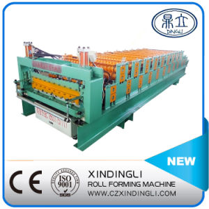 Beautiful Popular Wave and Ibr Double Layer Roofing Sheet Roll Forming Machinery pictures & photos