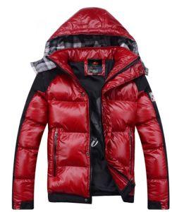 Mens Down Fashion Winter Coat Jacket Detachable Hood (SY-M012) pictures & photos
