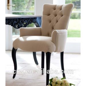 Rch-4014 2014 New Design Upholstered Fabric Button Chair pictures & photos