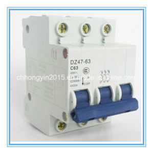 Best Selling MCB Circuit Breaker 63A Miniature Circuit Breaker pictures & photos