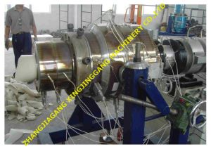 UPVC Pipe Production Line/PVC Pipe Making Machine/ PVC Pipe Plant/PVC Extrusion Line/HDPE Pipe Extrusion Line/HDPE Pipe Production Line/PPR Pipe Extrusion Line pictures & photos