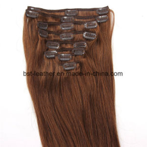 Clip in Human Hair Extensions Clip in Hair Extensions Brazilian Human Hair pictures & photos
