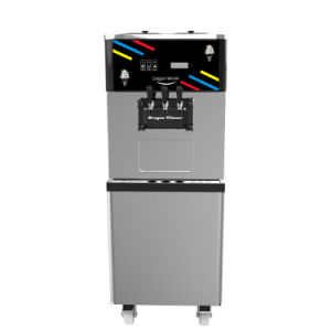 Ce Certificate Approved Italy Compressor Air Pump Soft Serve Ice Cream Machine (oceanpower DW138TC) pictures & photos