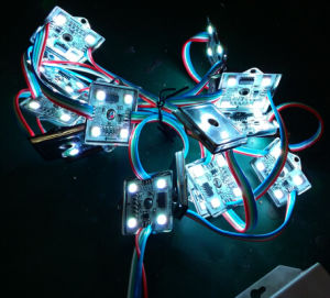 5050 RGB Waterproof 4 LEDs LED Module pictures & photos