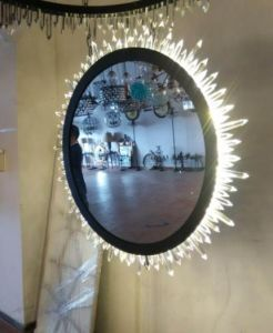 LED Wall Lamp with Crystals and Mirrors pictures & photos