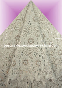 African Handcut Organza Lace Og0107