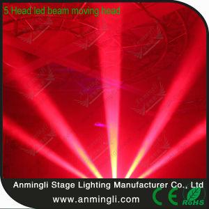 5 Head 5*10W CREE LED Beam Moving Head Light (AL-B510)