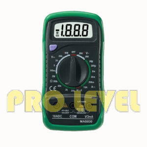 2000 Counts LCD Display Digital Multimeter (MSA830B) pictures & photos