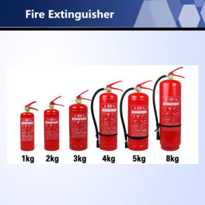 ABC Dry Powder Fire Extinguisher for Fire Suppression System pictures & photos