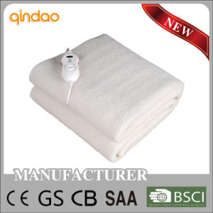 Approved Electric Heating Blanket Mat with Auto off Timer pictures & photos