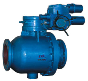 Worm Gear Manual Ball Valve pictures & photos