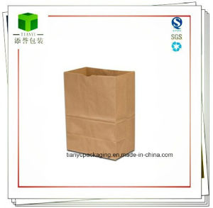 Brown Kraft Paper Grocery Sack pictures & photos