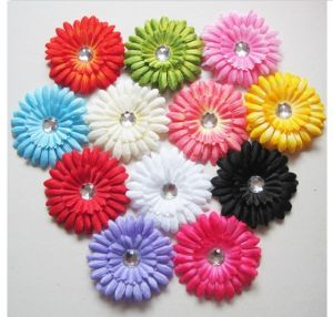 12 Colors Wringkled Children Daisy Hair Band