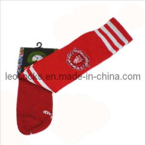 2014 New Men Strip Soccer Cotton Socks (DL-SC-07) pictures & photos